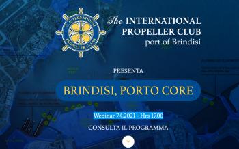"""WEBINAR IL 07 APRILE 2021 ORE 17.00: """"BRINDISI, PORTO CORE"""""""
