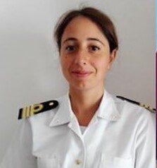 AMALIA MUGAVERO, NUOVO COMANDANTE DEL PORTO DI PALINURO